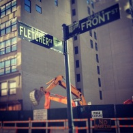 Fletcher Street Meet Front Street