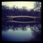 Central Park Bridge Spring 2012